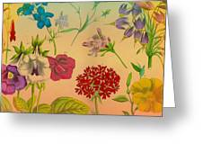 Bright Flowers Greeting Card