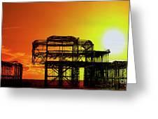 Brighton 4 Greeting Card