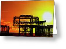 Brighton 4 Greeting Card