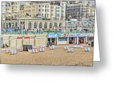 Brighton Seaside  Greeting Card