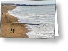 Brighton Shore Greeting Card