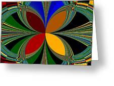 Brilliant Colors Greeting Card
