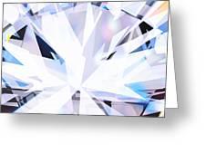 Brilliant Diamond  Greeting Card