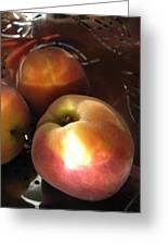 Brilliant Peach Greeting Card