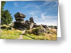 Brimham Rocks Greeting Card