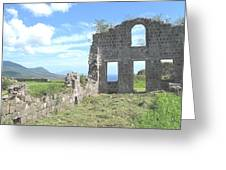Brimstone Ruins Greeting Card