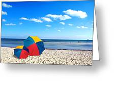 Bring The Umbrella With You Greeting Card