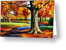 Bristol Fall  Greeting Card