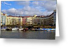 Bristol Harbour Appartments Greeting Card