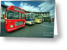 Bristol Line Up  Greeting Card