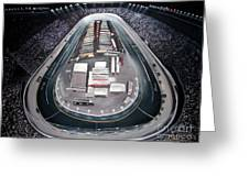 Bristol Motor Speedway Racing The Way It Ought To Be Greeting Card