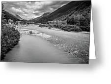 British Columbia White Pass Panorama Greeting Card