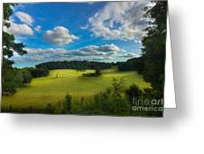 British Countryside Greeting Card