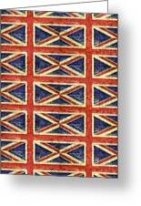 British Flag Collage One Greeting Card