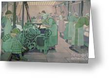 British Industries - Cotton Greeting Card