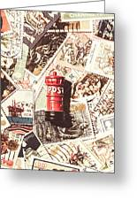 British Post Box Greeting Card