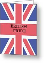 British Pride Greeting Card