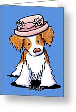 Brittany Girl Greeting Card