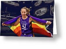 Brittney Griner Lgbt Pride 3 Greeting Card