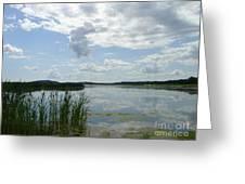 Bro Hof Slott Golf Club Sweden Greeting Card