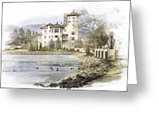 Broadmoor Hotel Greeting Card