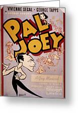 Broadway: Pal Joey, 1940 Greeting Card