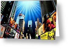 Broadway Rhythm Greeting Card