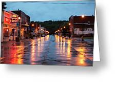 Broadway St. Excelsior Springs, Mo Greeting Card