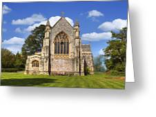 Brockenhurst - Hampshire - Uk Greeting Card