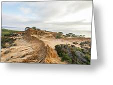 Broken Hill At Sunset Greeting Card