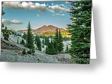 Broken Top, Oregon Greeting Card