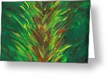 Bromeliad Alight Greeting Card