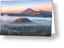 bromo tengger semeru national park - Java Greeting Card