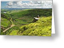 Bronte Country   Yorkshire England Greeting Card