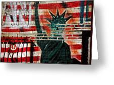Bronx Graffiti - 4 Greeting Card