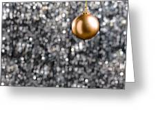Bronze Christmas  Greeting Card