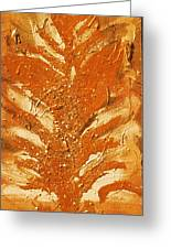 Bronze Roots II Greeting Card