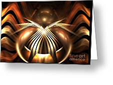 Bronze Spider Greeting Card