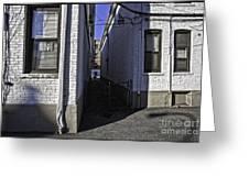 Brooklyn Alleyway Greeting Card
