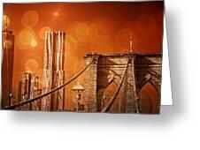Brooklyn Bokehs Greeting Card