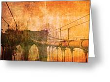 Brooklyn Bridge Vintage Greeting Card