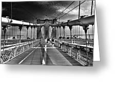 Brooklyn Brige Greeting Card