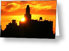 Brooklyn Dawn  Greeting Card