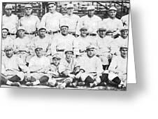 Brooklyn Dodger Champions Greeting Card