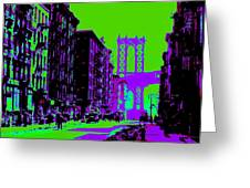 Brooklyn Green Greeting Card