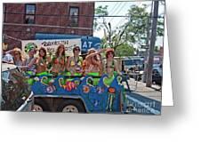 Brooklyn Mermaids Greeting Card
