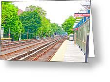Brooklyn Subway Train Station 2 Greeting Card
