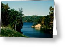 Brookville Lake Brookville Indiana Greeting Card