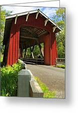 Brookwood Covered Bridge Greeting Card