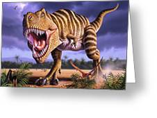 Brown Rex Greeting Card